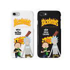 Thrasher Magazine X Backwoods Rick and Morty iPhone Case | US SELLER