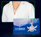 S925 Silver Digital Monster Digimon Adventure Holy Angemon Cosplay Necklace