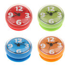 Assorted Bathroom Shower Digital Alarm Clock With Suction Cup Wall Clock Sticker