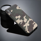 Shockproof Camo Camouflage Slim Hard Back Cover Case For Apple iPhone 7 8