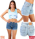 VINTAGE LEVIS HIGH WAISTED/CUT OFF TURNED UP WOMEN SHORTS SIZE 6 8 10 12 14 16