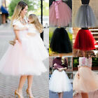 rockabilly kids dresses - Layer Tulle Skirt Women Party Dress 50s Rockabilly Tutu Petticoat Ball Gown Long