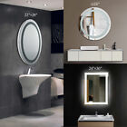 lighted vanity mirrors for bathroom - hot sale LED Bathroom Lighted Vanity Wall Mirror for Make up w/ Touch Button