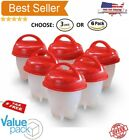 Home Garden - Egglettes Egg Cooker Hard Boiled Eggs Cups Kitchen Eggies - 6 pcs As Seen On TV
