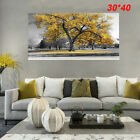Large Tree Yellow Leaves Nature Pictures Print Canvas Wall Art Prints Unframed
