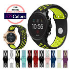Bracelet Silicone Sport Band Watch Strap for Fossil Q 20mm 22mm Lug Smart Watch image