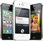 "APPLE IPHONE 4S 32GB iOS Unlocked 3.5"" Dual-core 8MP SMARTPHONE White/Black"