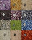 Внешний вид - Small Tumbled Undrilled Natural Gemstone Chips --12 Varieties Available