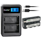 Kastar Battery LCD Dual USB Charger for Sony NP-F550 & DCR-VX2100 DCR-VX2100E