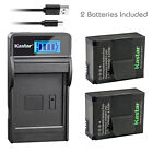 Kastar Battery LCD Charger for AHDBT-301 AHDBT-302 GoPro HD HERO3+ Black Edition