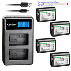 Kyпить Kastar Battery LCD Dual Charger for Sony NP-FW50 BC-VW1 & ILCE-6000 Alpha a6000 на еВаy.соm