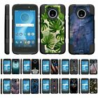 For Motorola Moto E5 Cruise / E5 Play Dual Layer Hybrid Kickstand Fitted Case