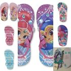 Toddler Girls  -beach shoe, flip flops.  Asst colors, NWT     image