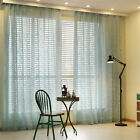 2 PANELS VINE PATTERN BLACKOUT THERMAL CURTAINS DRAPES WINDOW ACCESSORIES