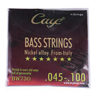 CAYE BW Series 4/5/6 Strings Guage 45-100 Electric Bass Guitar Sets Nickel Alloy