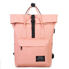 Fashion Canvas Backpack Girls Laptop Backpack School Bags Satchel Travel Bag