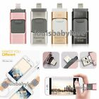 USB OTG Disk i-Flash Drive 64 128 256GB Storage Memory Stick for iPhone X 8 7 6
