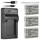 Kastar Battery Slim USB Charger for Canon NB-10L CB-2LC & Canon PowerShot G15