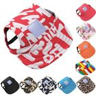 US Pet Dog Summer Cap Puppy Baseball Visor Hat Outdoor Sunbonnet Canvas Cap S-XL