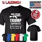 Donald Trump President T Shirt Pro Guns 2nd Amendment Great Gift Patriotic Shirt