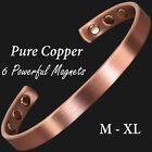Copper Magnetic Bracelet for Arthritis Joint Wrist Magnetic Therapy Bracelet -CF