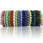 20pcs/lot 10mm Disco Mixed Gradient Colorful Crystal Shamballa Beads 18 Colors