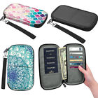 RFID Blocking Leather Passport Holder ID Case Credit Card Wallet Men /Women's
