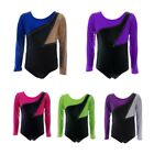 gymnastics outfits for kids - Kids Baby Girl Long Sleeve Gymnastics Leotards Pro Ballet Dance Bodysuits Outfit