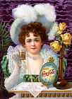 Coke Ad Coca Cola Ad, Vintage Antique Style, Giclee HD Art Print or Canvas Print $54.95  on eBay