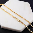 Jewelry  16-30 inches  Fine Engagement Necklace Bride  Chain  Solid 18K Gold