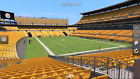 4 - PITTSBURGH STEELERS VS CLEVELAND BROWNS TICKETS - 10/28 - SEC 144 - ROW MM