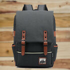 Men Women Shoulder Canvas Backpack Rucksack School Travel Laptop College Bag <br/> *UK STOCK*Fast &amp; Free Royal Mail Post*Promotion Price*