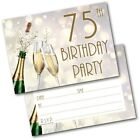 30th 40th 50th 60th 70th 80th 90th Birthday Party Invitations Invites Pack of 20