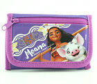 Disney Moana Wallet for Girls Kids Children with Pig Pua Trifold Photo ID Holder