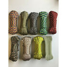 Kyпить 550 Paracord 100ft Parachute Cord 7 Strand Crazy Camouflage Colors Survival Rope на еВаy.соm