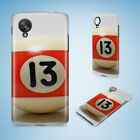 SNOOKER POOL TABLE BALLS 9 HARD PHONE CASE COVER FOR NEXUS 5 5X 6 6P $6.93 USD on eBay