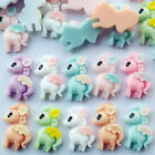 Внешний вид - Mix Lots Cute Horse Flatback Resin Button Diy Craft Scrapbook  Embelishment