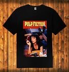 New Pulp Fiction Classic Vintage Movie Black Men's T Shirt Sizes S - 3XL image
