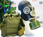 WW2 Gas Mask GP-5M mask filter bag Black Soviet Russian COOL FUNY GIFT authentic