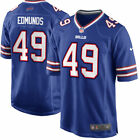 Buffalo Bills 49 Tremaine Edmunds Blue Jersey