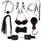 Adult-Sex-SM-Toys-Handcuffs-Cuffs-Strap-Whip-Rope-Neck-Bandage-Sexy-SMs