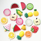Внешний вид - Mixed Lots Fruit Flatback Button Resin Button DIY Craft Embelishment
