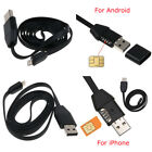 Spy GPS Car Charger Micro USB Cable Real Time Tracking For Android/iPhone