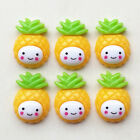 Внешний вид - Cute Smile Face Pineapple Flatback Button Resin Button DIY Craft Embelishment
