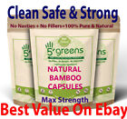 Organic Silica 500mg Capsules Silicon Bamboo Extract Hair Nails Skin Health £1.99 GBP on eBay