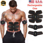 Electric Muscle Toner Machine Wireless Toning Belt Simulation Abs Fat Burner image