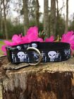 The Punisher in Black Dog Collar, FREE SHIPPING
