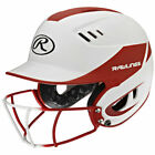 Rawlings Youth Velo Two-Tone Fastpitch Batting Helmet