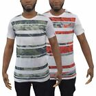 Mens T-Shirt Captain Sublimated Longline Tee Top(,)