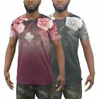 Mens T-Shirt Juice Morio Sublimated Longline Tee Top